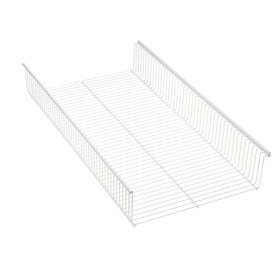 Elfa Shelf Basket 90x33 White