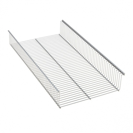 Elfa Shelf Basket 60x33 Platinum