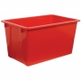 Taurus Fish Bin 56L Red