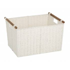Pastiche Basket White Large