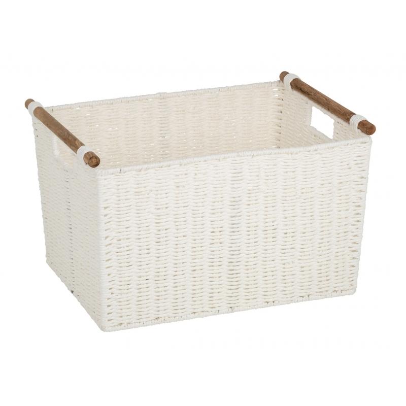 Pastiche Basket White Large
