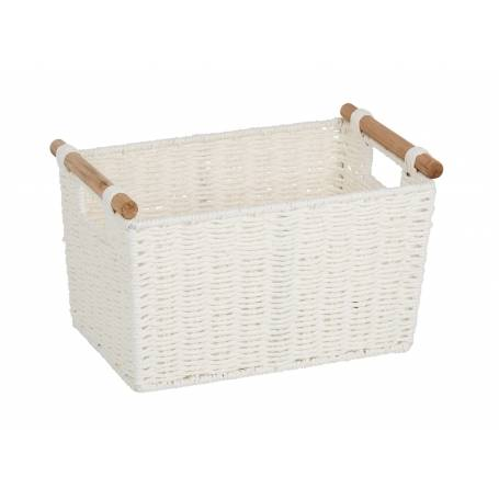 Pastiche Basket White Small