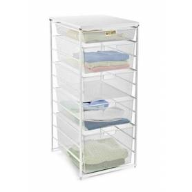 Elfa Drawer Set Medium 7 Runner White