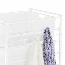 Elfa Hangmate 5 Hook Rack White