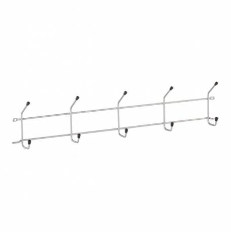 Elfa Hangmate 5 Hook Rack Platinum