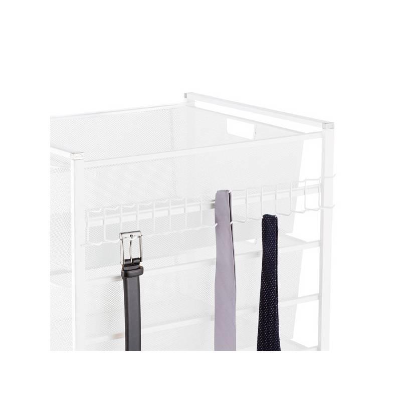 Elfa Hangmate Belt & Tie Rack White