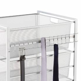 Elfa Hangmate Belt & Tie Rack Platinum