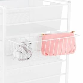 Elfa Hangmate Accessory Basket White