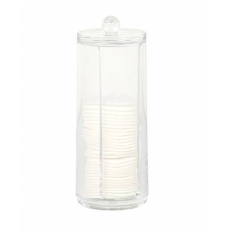 Acrylic Cotton Pad Dispenser