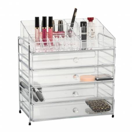 Acrylic Cosmetic Organiser 4 Drawer