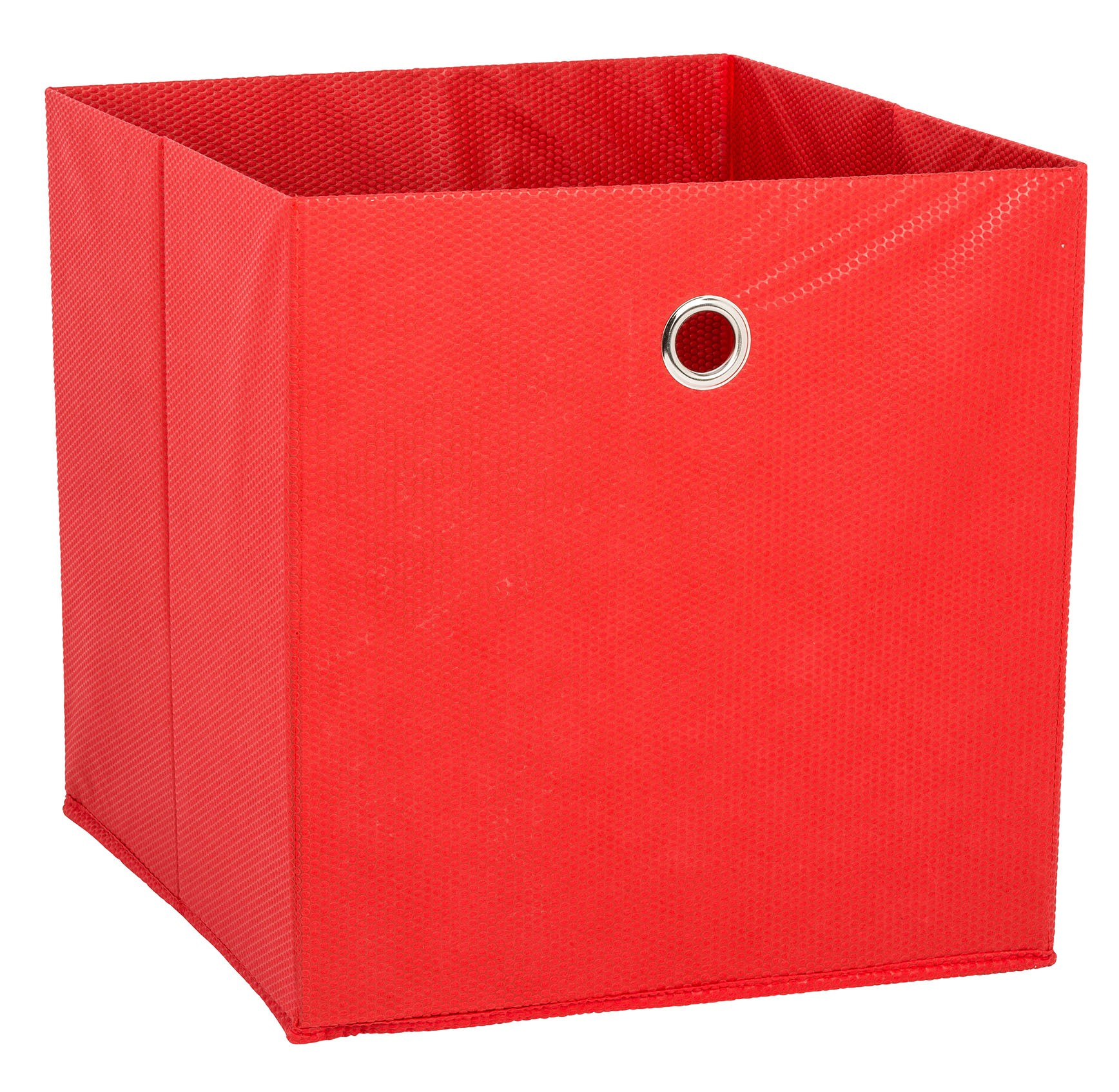 Fabric Box Red Large From Storage Box