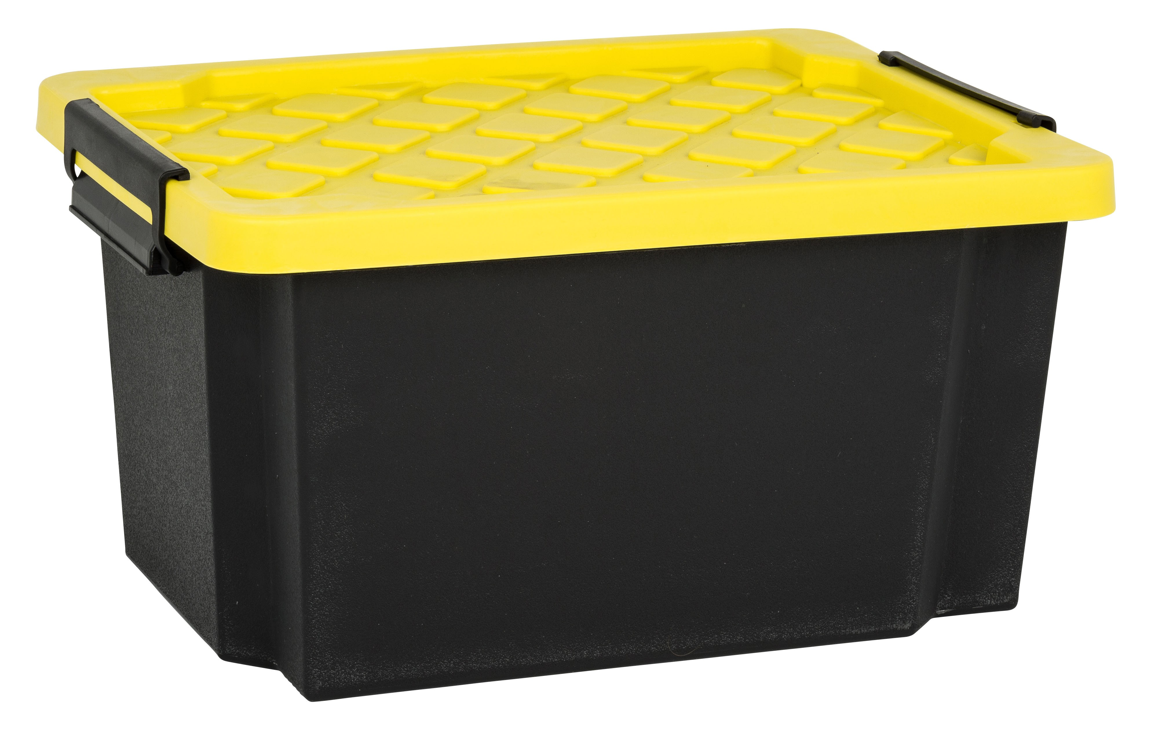 Trunk box 25l with lid from storage box for Cutlery storage with lid