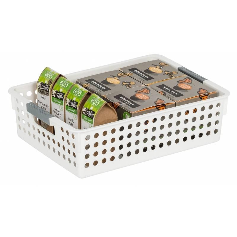 White Basket 29x21x8