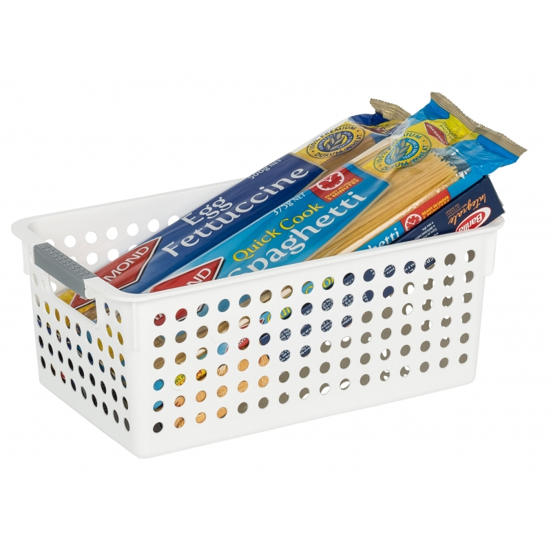 White Basket 29x16x11