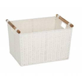 Pastiche Basket White Medium