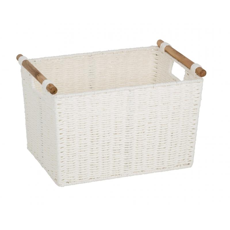Pastiche Basket White