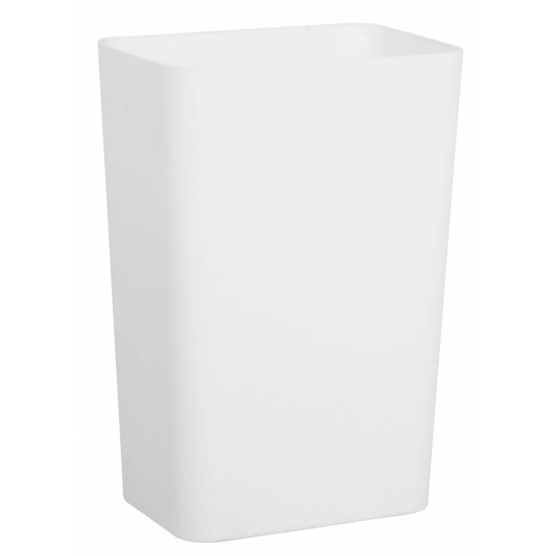 Plastic Rectangular Bin 8L White