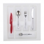 Cutlery Insert 385x385mm White