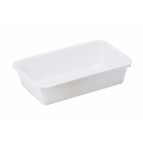Tray Long White