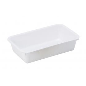 Tray Long White
