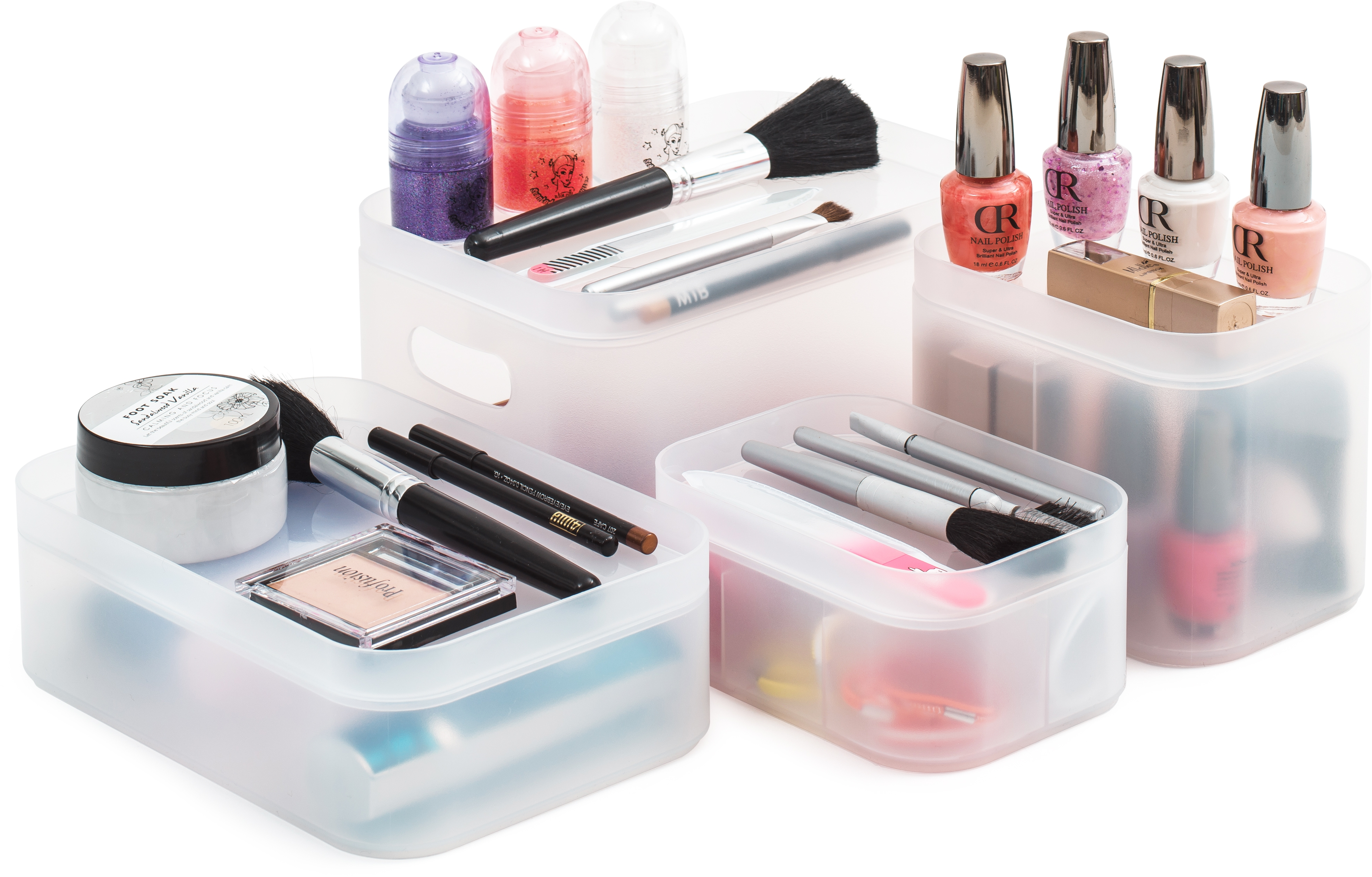 Stackable Cosmetic Holder Tall From Storage Box