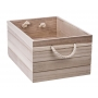 Natural Wooden Crate Large
