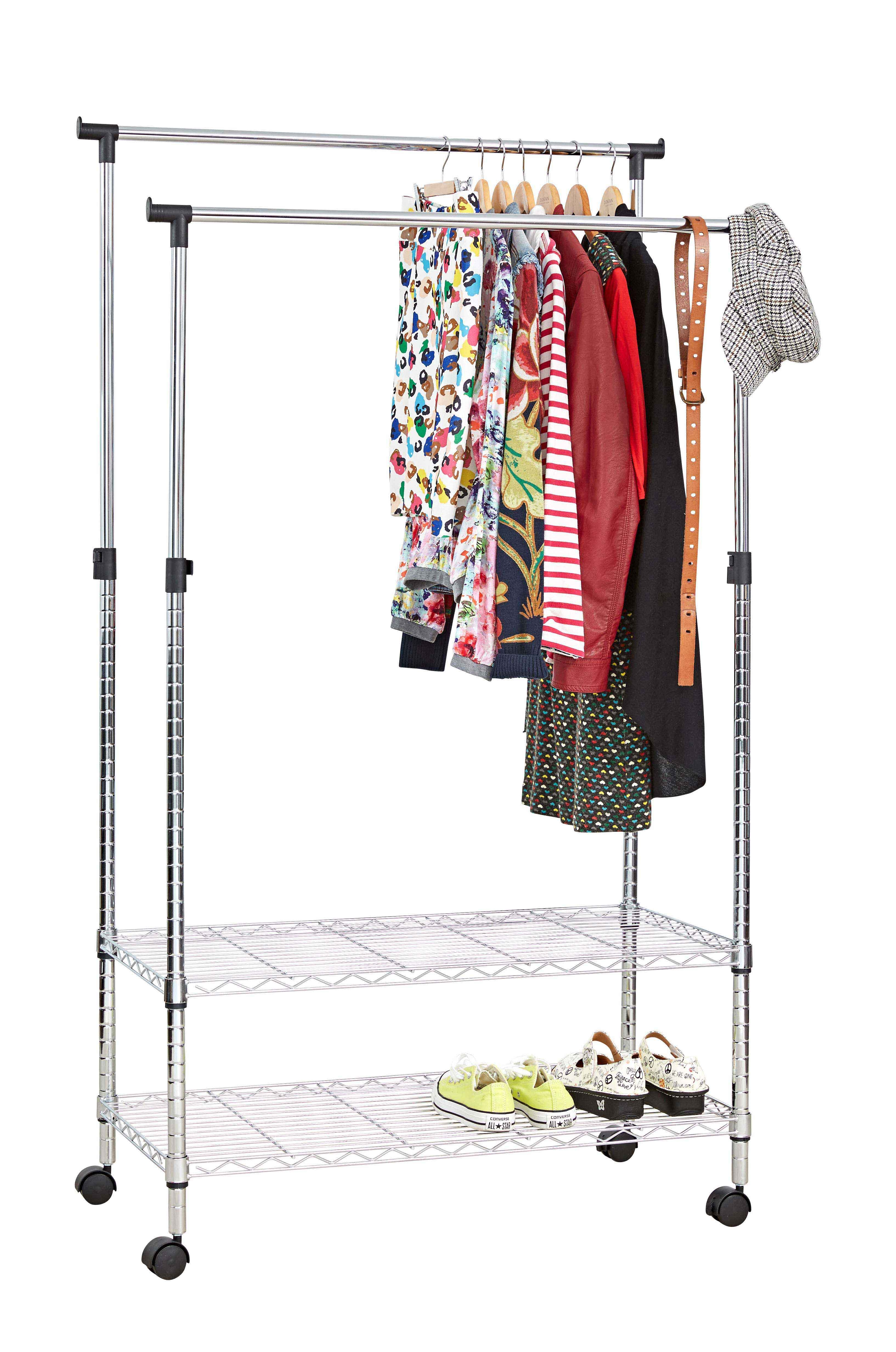 Garment Rack Duo From Storage Box