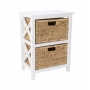 Stella Shelf 2 Tier with Hyacinth Baskets