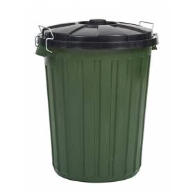 Rubbish Bin with Lid 45L