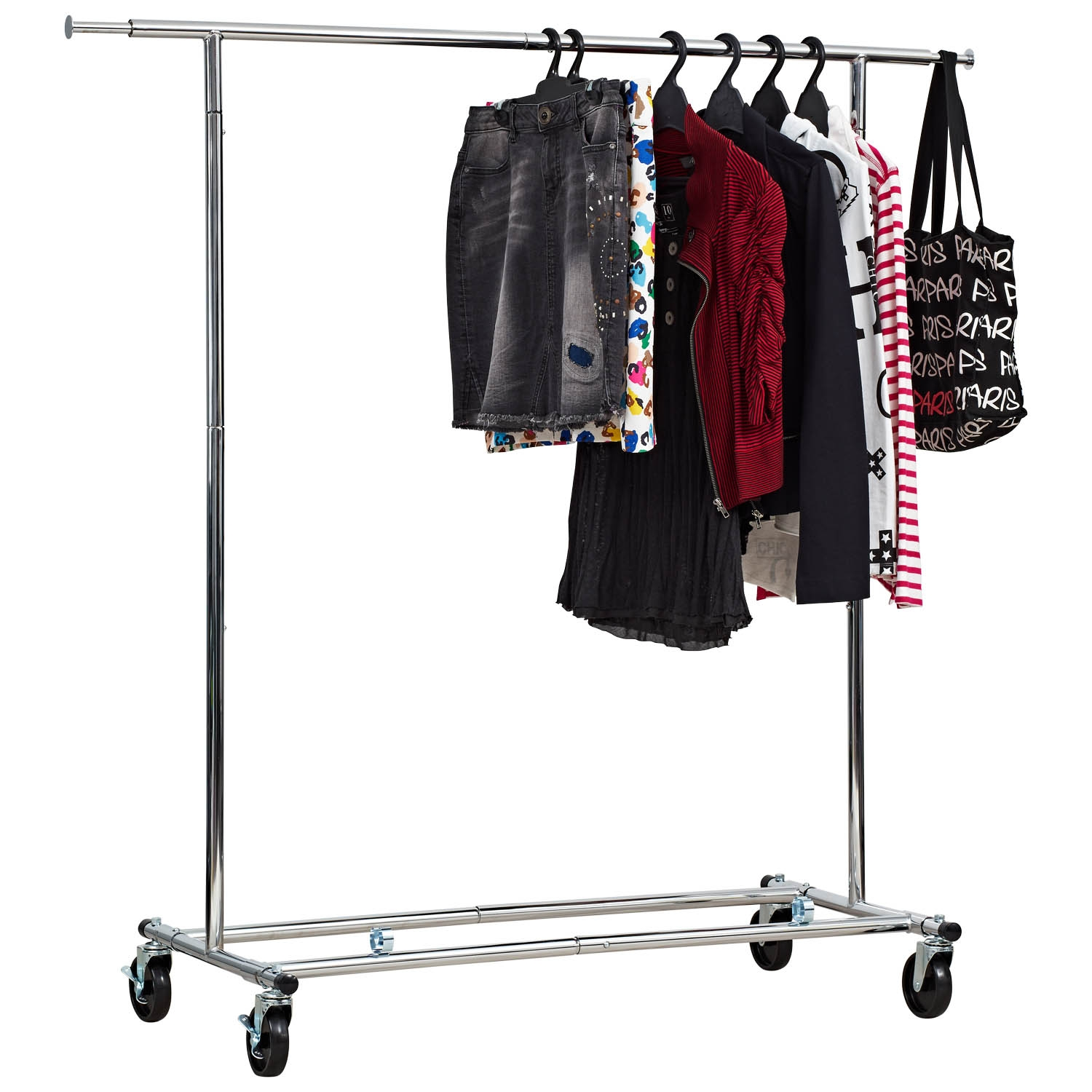 Heavy Duty Garment Rack From Storage Box