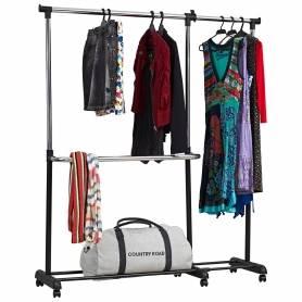 Garment Rack Two Divison