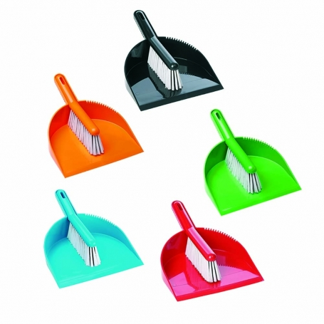 Brush & Dustpan Set Raven