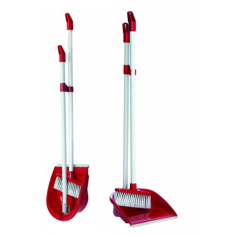 Brush & Dustpan Foldaway Raven
