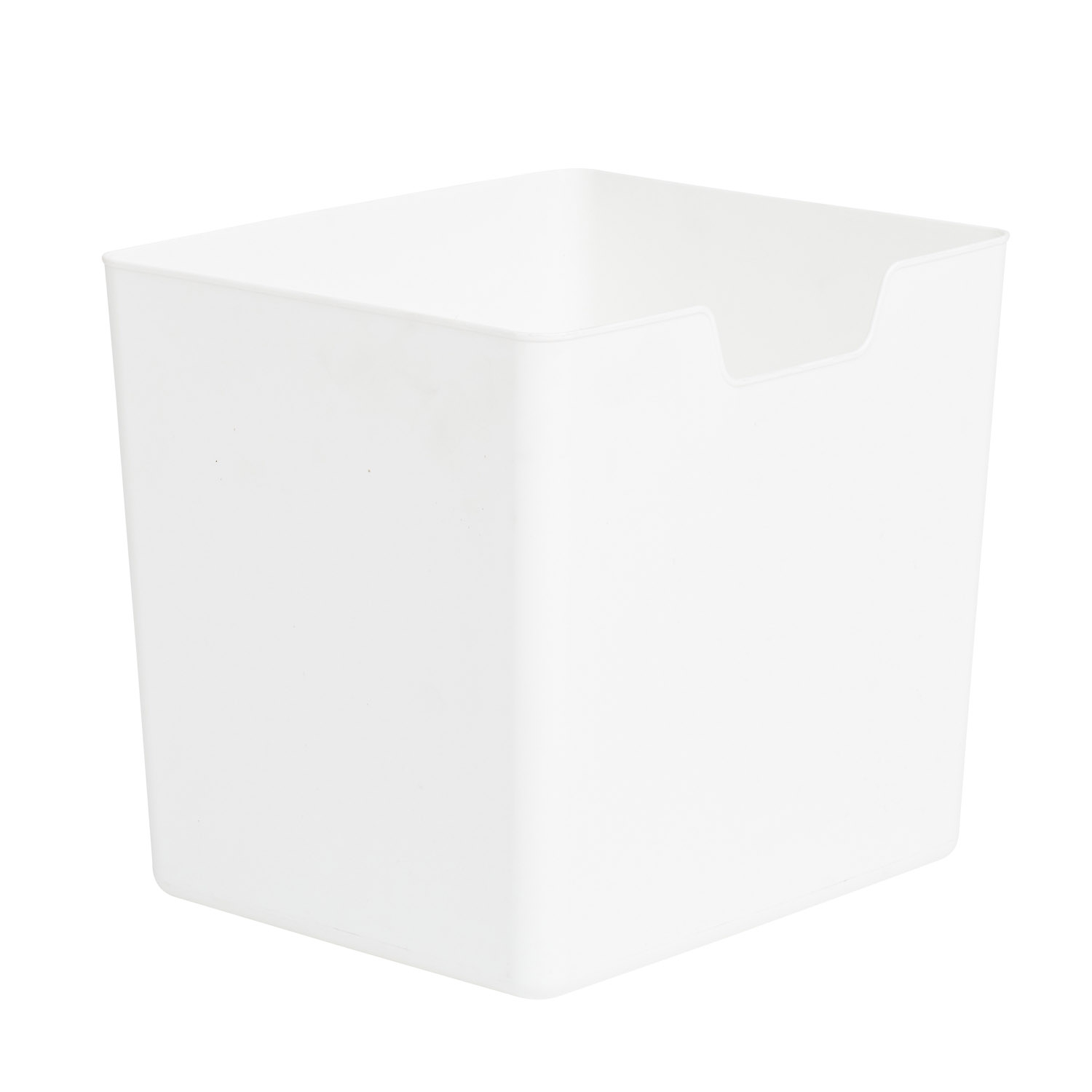 cube insert white from storage box. Black Bedroom Furniture Sets. Home Design Ideas