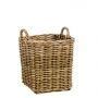 Rattan Log Basket Small