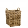 Rattan Log Basket Small