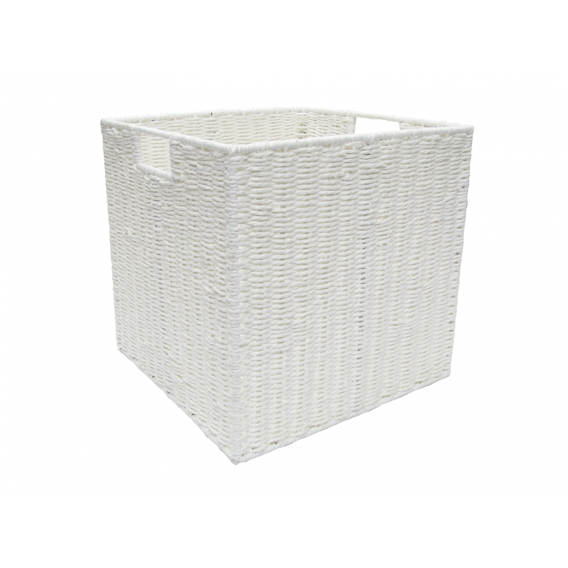 Pastiche Rope Basket White Large