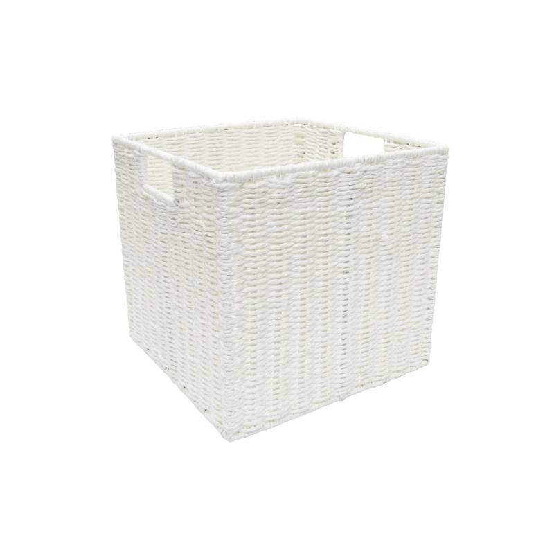 Pastiche Rope Basket White Medium