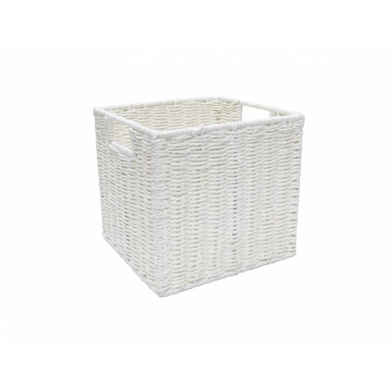 Pastiche Rope Basket White Small
