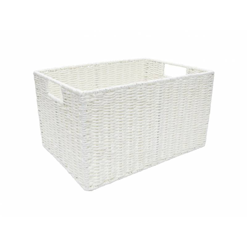 Pastiche Rope Tray White Large