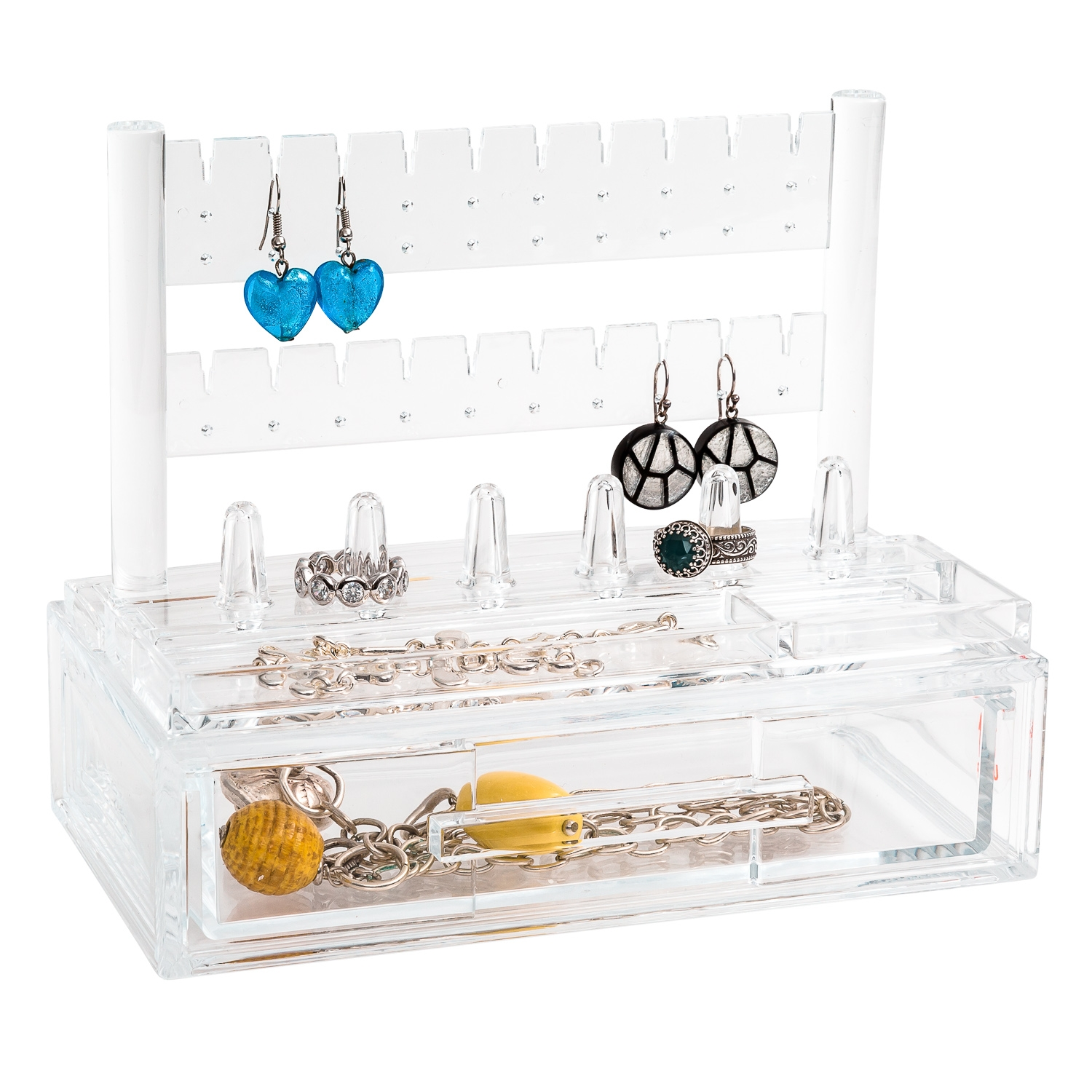 Jewellery Organiser With Drawer From Storage Box
