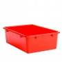 Storage Box 30x42x12cm Plastic Assorted Colours