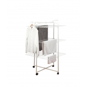 Clothes Airer 3 Tier with Wheels