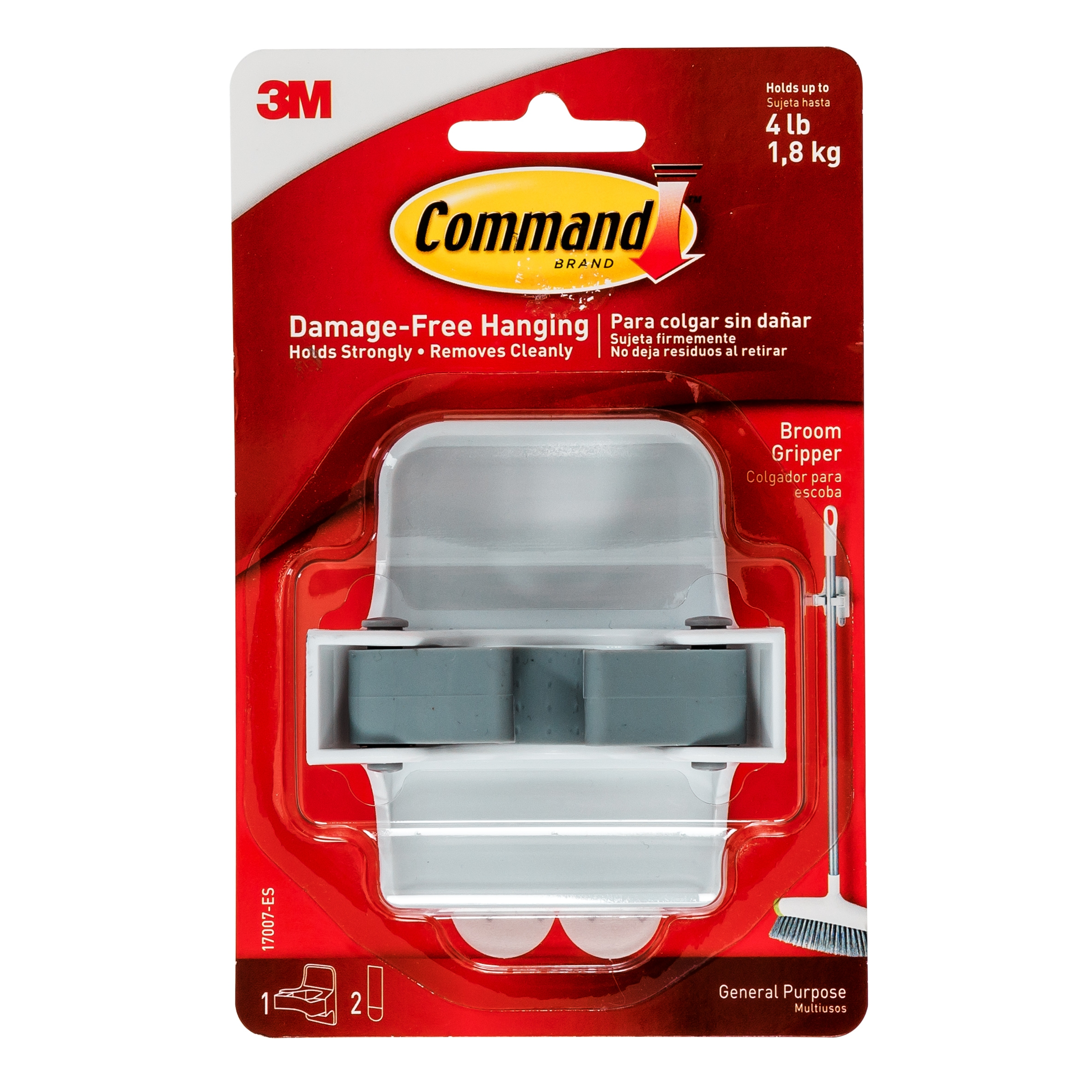 Command Broom Gripper From Storage Box