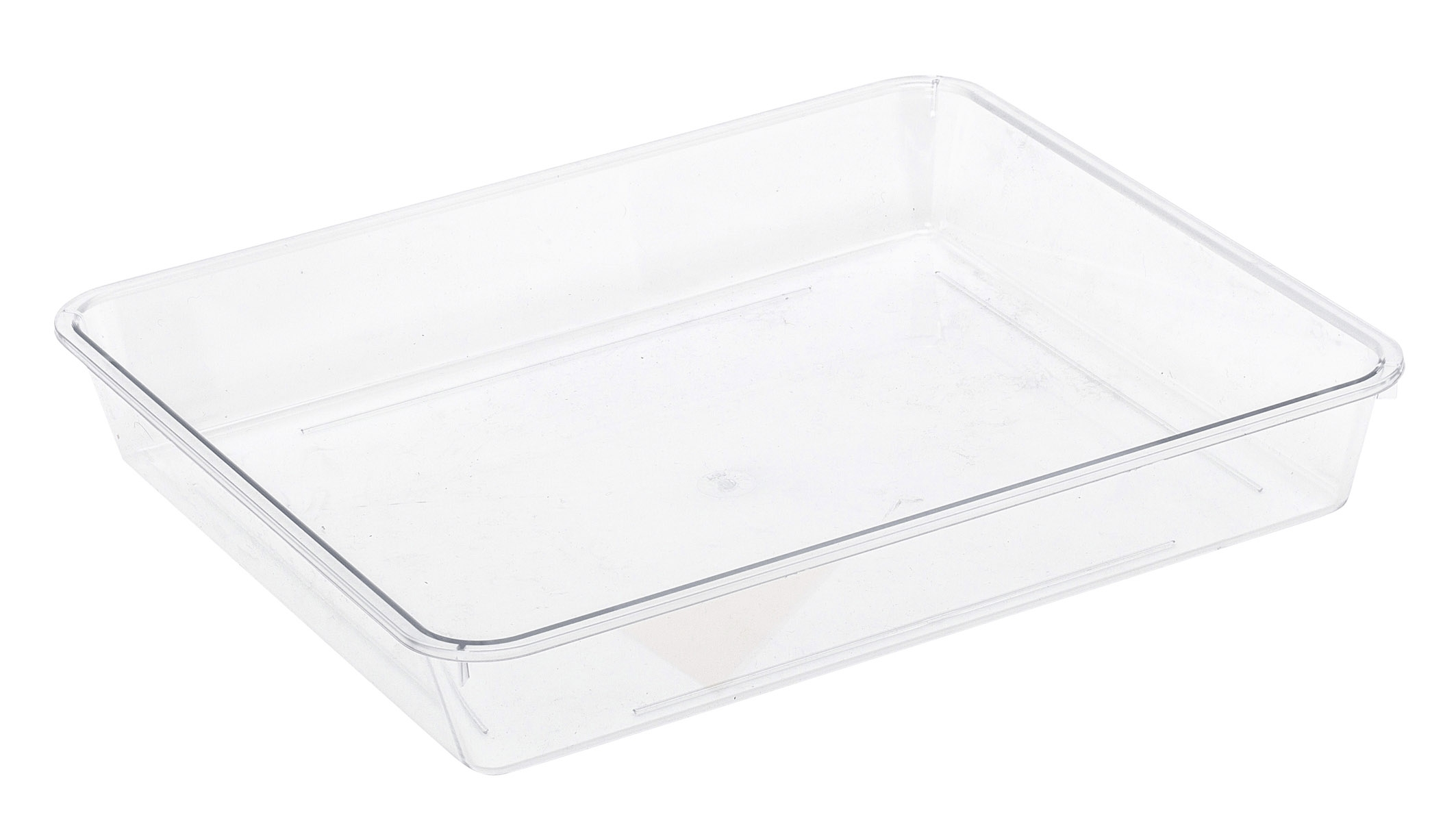 Tray Long Rectangle Clear From Storage Box