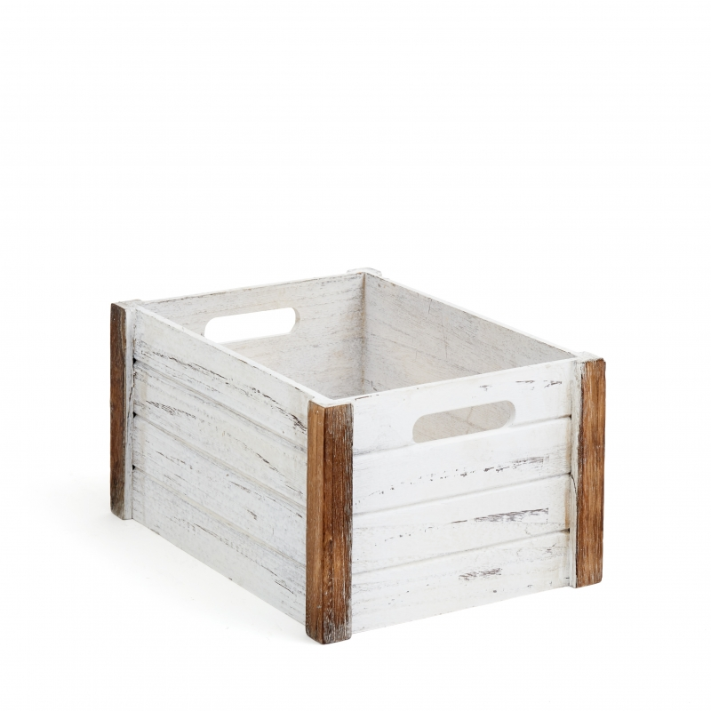 Wooden Storage Crate Medium