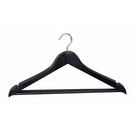 Black Wooden Coat Hanger 3 Pack