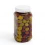 Plastic Jar 750ml Square