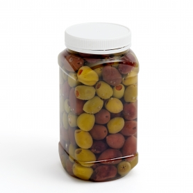 Plastic Jar 750ml Square