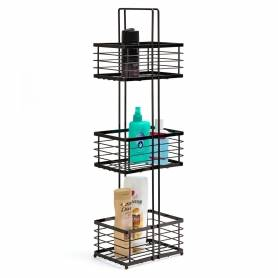 3 Tier Rack Black Onyx